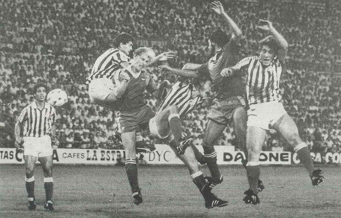 Betis-Málaga Liga 1982