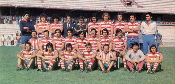 El Granada en la temporada 1976-77