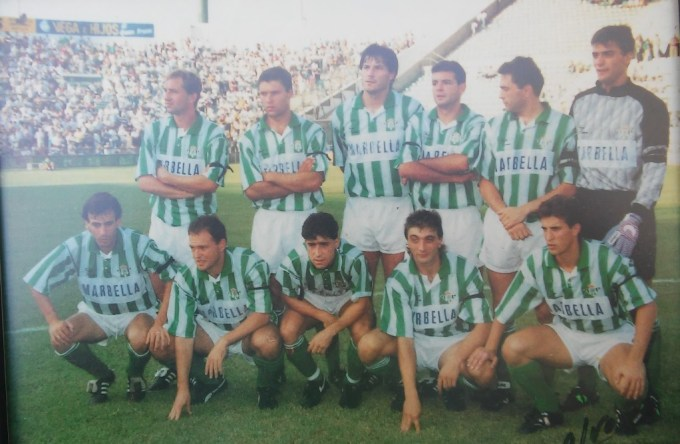 Alineación Betis-Compostela Liga 1992