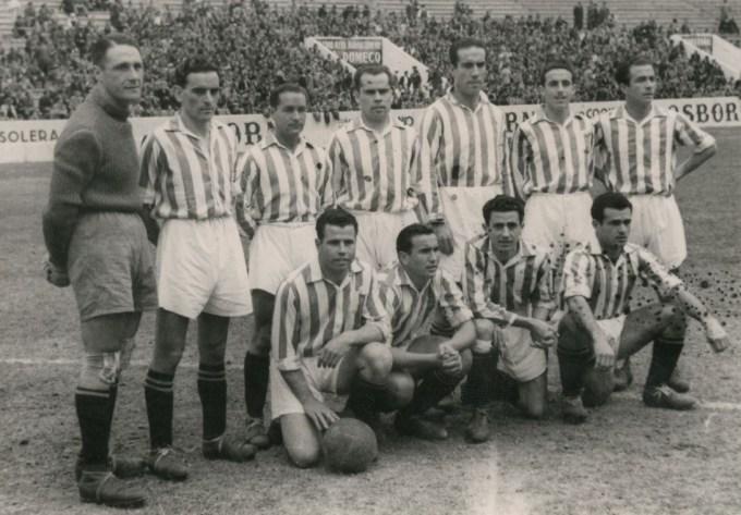 Alineación Betis-Zaragoza Liga 1943
