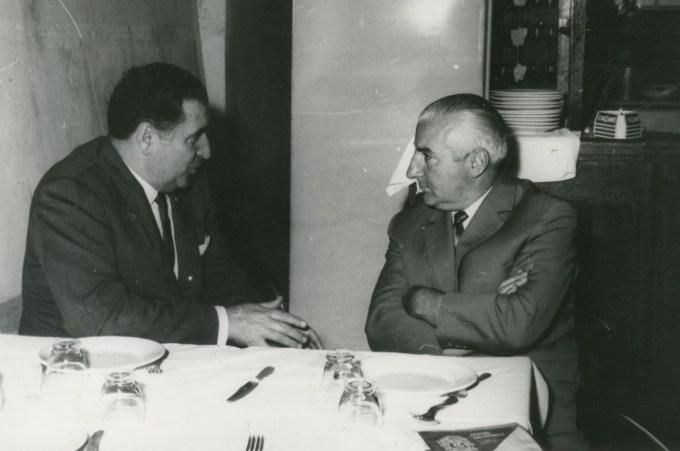 Entrevista Benito Villamarín 1963