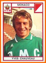 01-Yves CHAUVEAU Panini AS Monaco 1976