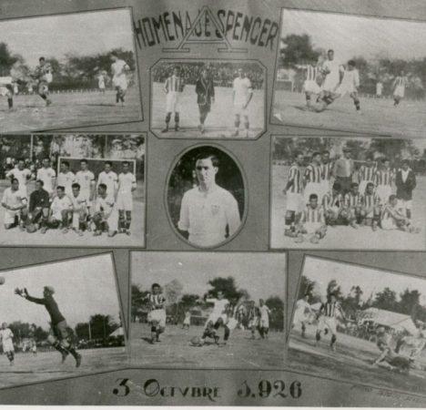 Hoy hace 95 años. Sevilla 1 Betis 3 y victoria en la Copa Spencer.
