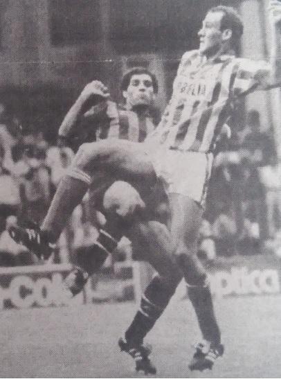 Sestao-Betis Liga 1992 Debut de Roberto Ríos Diario 16 14-9-1992