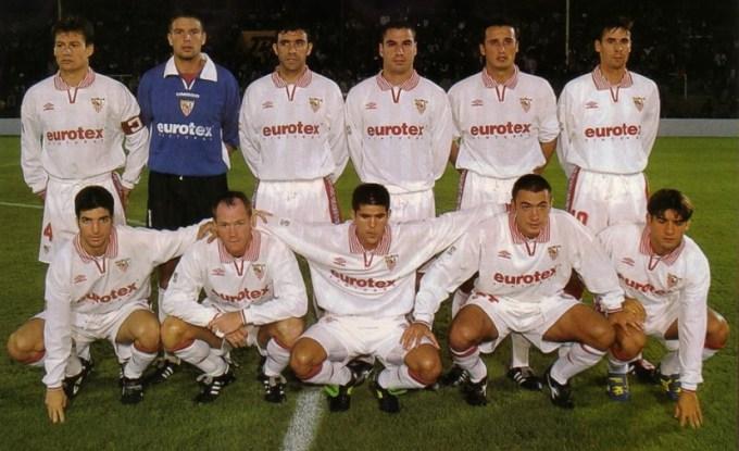 El Sevilla en la temporada 1997-98