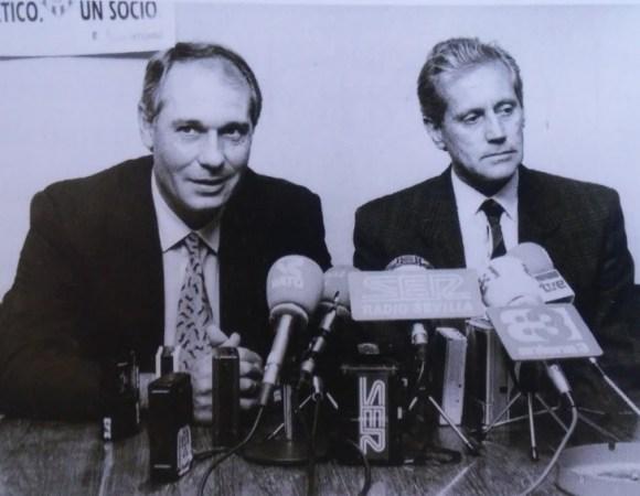 Hoy hace 30 años. Presentación de José Luis Romero como nuevo entrenador.