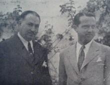 A su izquierda, Secretario Antonio GONZÁLEZ y González De Nicolás.