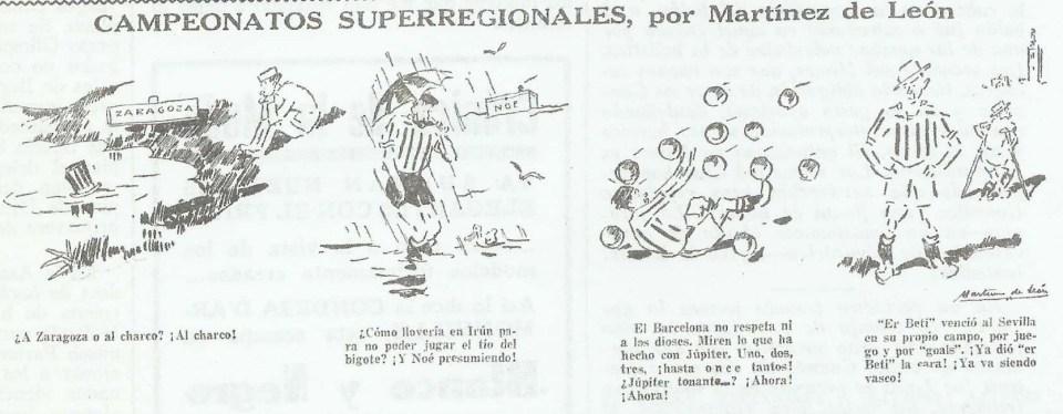 Fuente LA VOZ-Madrid.-CAMPEONATOS SUPERREGIONALES, por Martínez León.