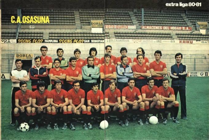 Osasuna en la temporada 1980-81