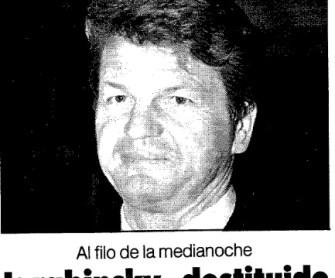 Hoy hace 25 años...