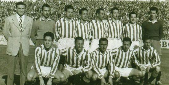 Alineación Betis-Algeciras Liga 1953