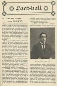 Juan Tornero y de Orta-Un futbolista ilustre.-Medio Sociedad Sevilla Balompié.-100Aniversario.