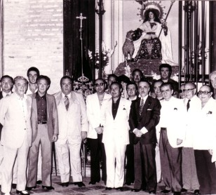 Ofrenda a la Divina Pastora 1977