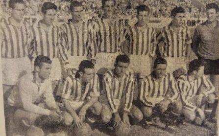 Alineación Betis-Jerez Liga 1955