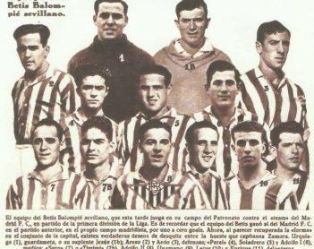 1934-Febrero 18-Patronato.-Betis Balompié-2 Madrid Cf-1.-83 Aniversario.