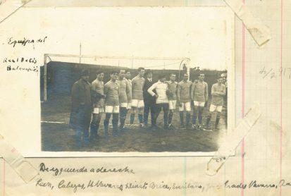1916-1917.-Velódromo.-Real Club Recreativo Huelva vs. Real Betis Balompié.-Centenario.