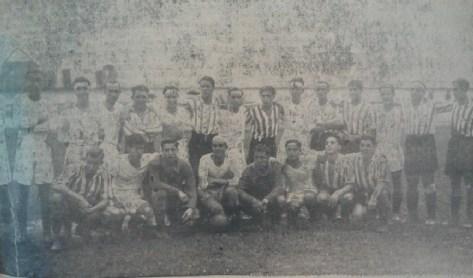 Alineación Betis-Sevilla Amistoso 1933