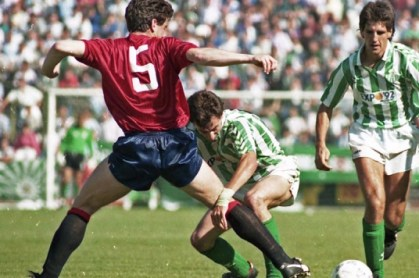 Betis-Osasuna Liga 1988
