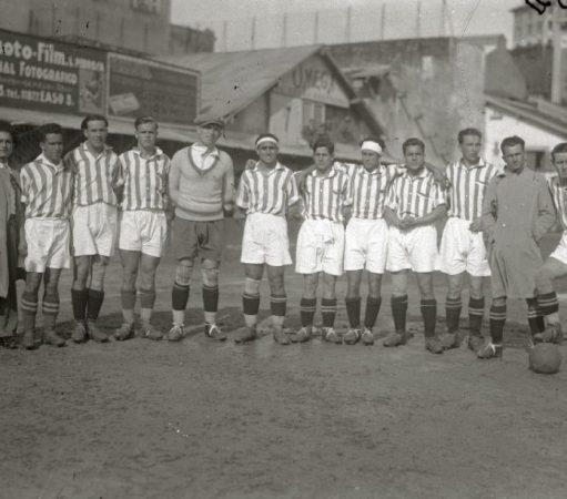 Hoy hace 90 años. Derrota 4-1 en Atocha frente al Donostia y clasificación para los octavos de la Copa.
