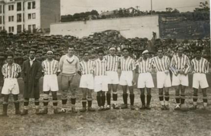 Hoy hace 89 años. Derrota 3-1 en Chamartín contra el Athletic en la final de Copa.