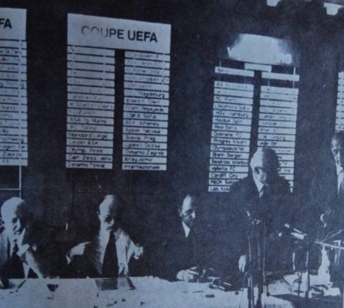 Hoy hace 44 años. Sorteo en Zurich de la Recopa y cruce con el Milan.