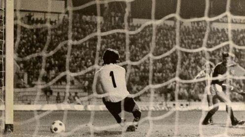 Hoy hace 42 años. Betis 2 Milan 0.