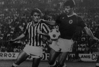 Hoy hace 37 años. Betis 1 Benfica 2.