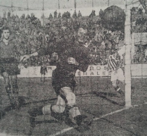 Hoy hace 73 años. Betis 4 Talavera 0.