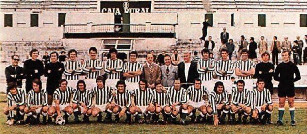 Plantilla temporada 1973-74