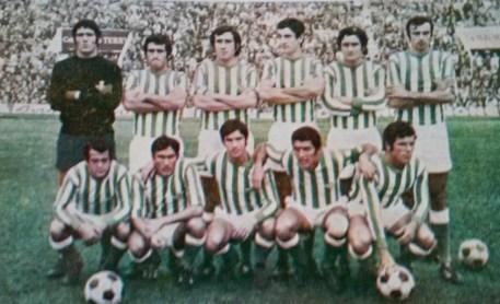Alineación Betis-Real Madrid Liga 1972