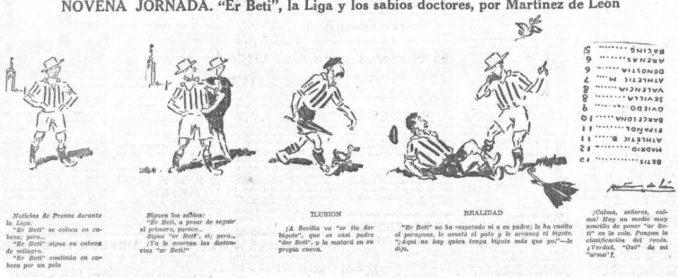 Oselito y el Betis 1935