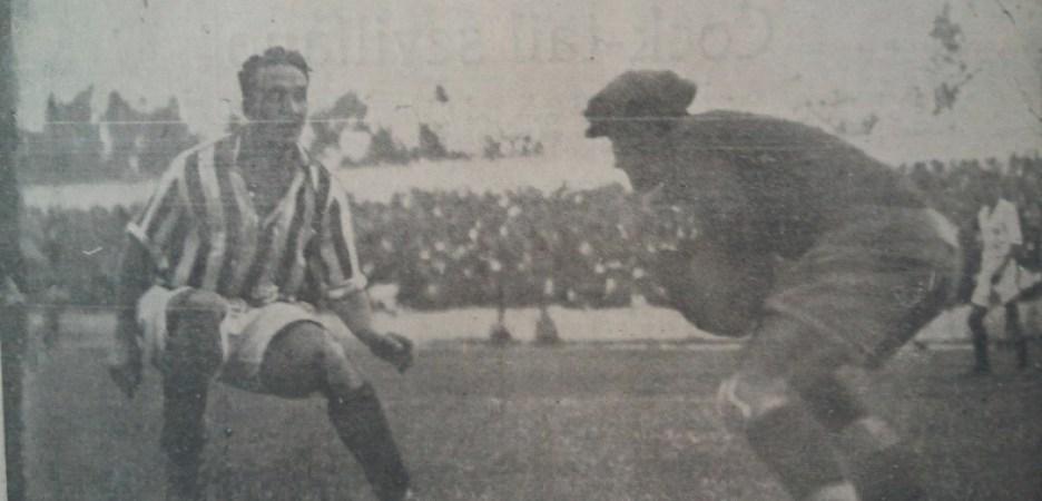 Hoy hace 88 años. Sevilla 1 Betis 2.
