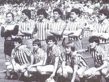 Alineación Valencia-Betis Liga 1983