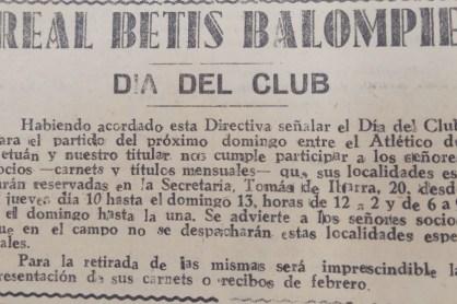 Día del Club 1949