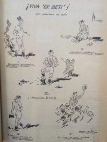 Oselito y el Betis 1947