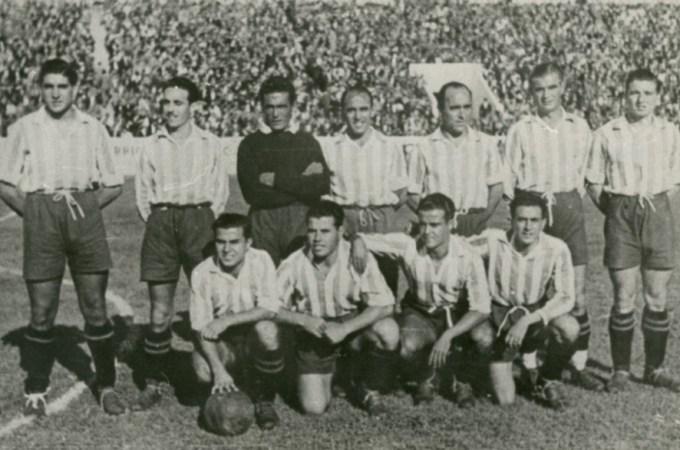 Hoy hace 77 años. Betis 6 Valladolid 1.