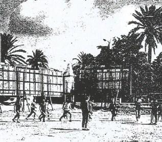 Entrenamientos en Maracaná 1977