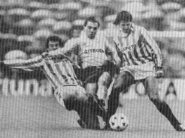 Hoy hace 32 años. Betis 2 Celta 0.