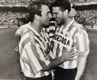 Alegría en el Bernabéu 1995