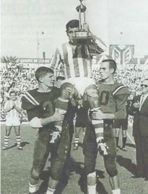 Trofeo para Fernando Ansola 1964
