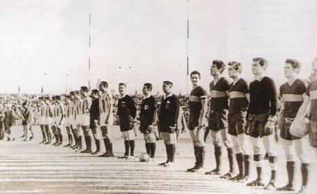 Hoy hace 55 años. Betis 2 Boca Juniors 1 en la semifinal del Carranza.