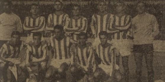 Alineación Betis-Real Madrid Copa Juvenil 1964