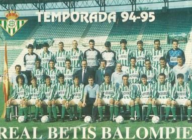 Plantilla Temporada 1993-94