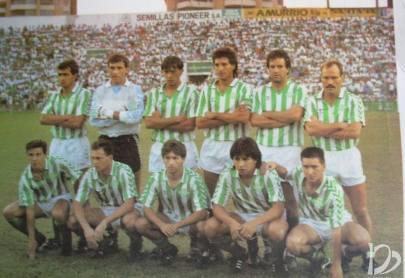 Hoy hace 30 años. Betis 1 Deportivo 0.