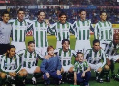 Alineación Osasuna-Betis Liga 2003