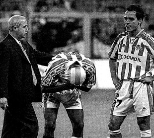 Tristeza en el Bernabéu 1997