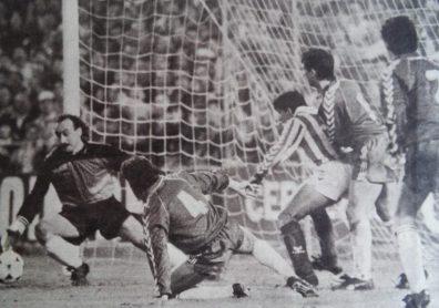Hoy hace 30 años. Betis 0 Real Burgos 0.