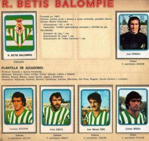 Album de cromos temporada 1975-76