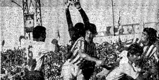 Hoy hace 45 años. Betis 1 Las Palmas 0.