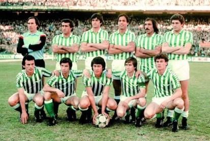 El equipo de la jornada. Real Betis Balompié. 1981